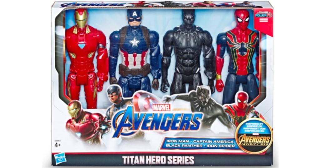 super heros 4 pack
