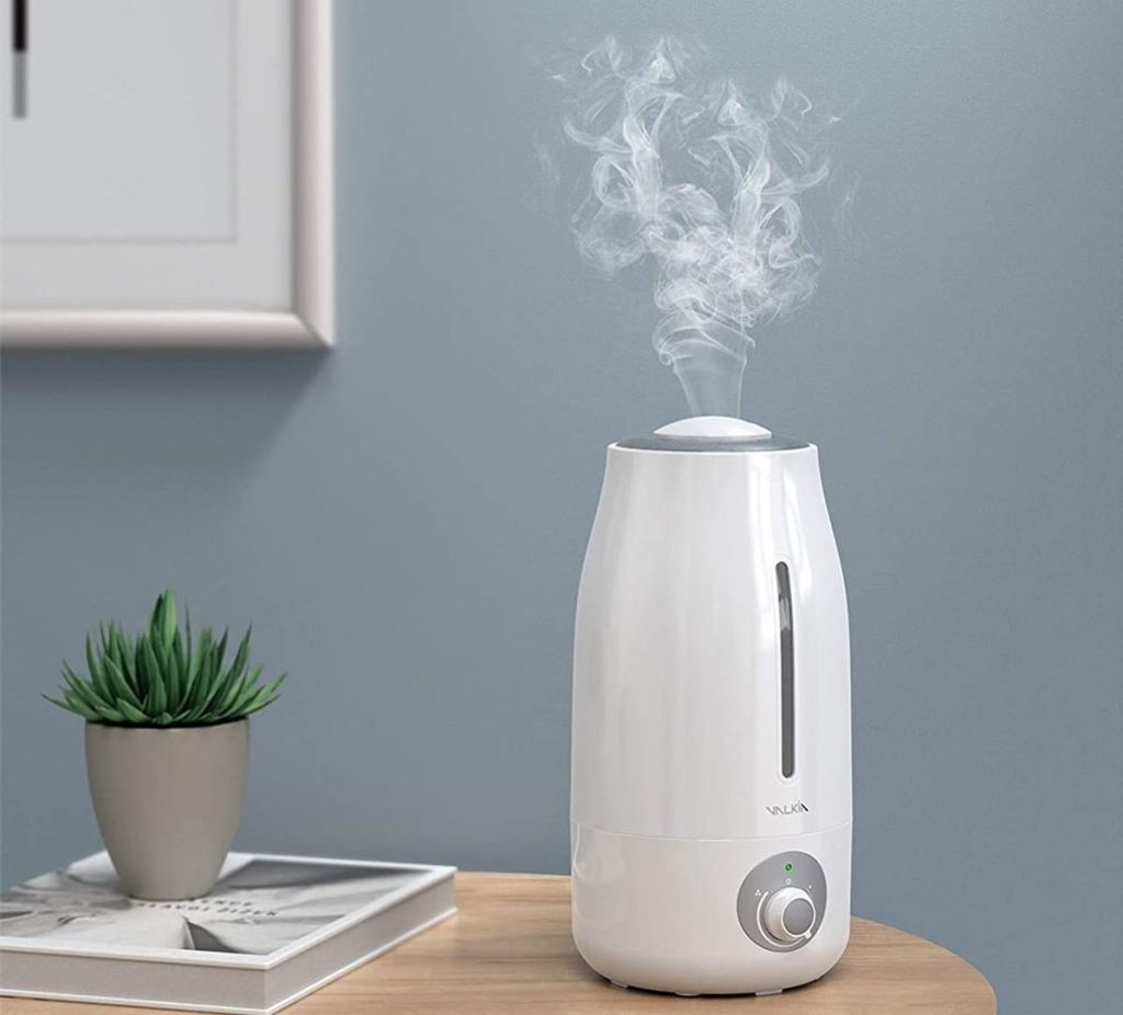 humidifier on a table