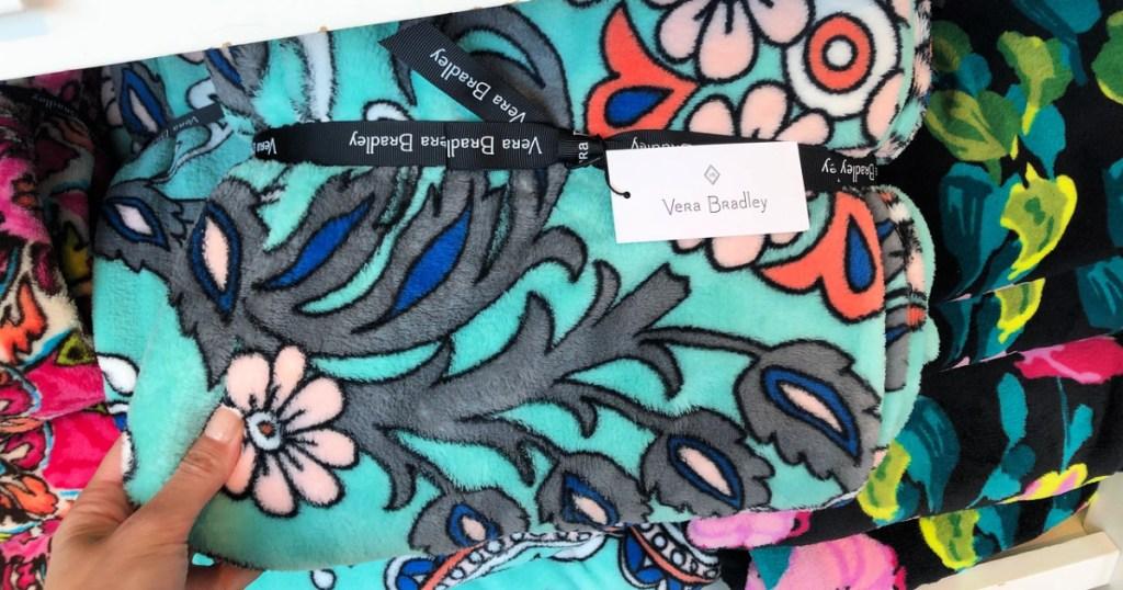 Vera Bradley Factory Style Throw Blanket