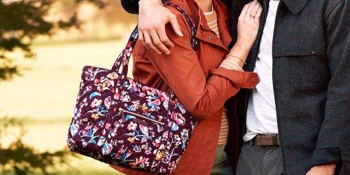 Vera Bradley Tote Bag Just $40.62 Shipped on QVC.com (Regularly $110)   Tons of Storage Pockets