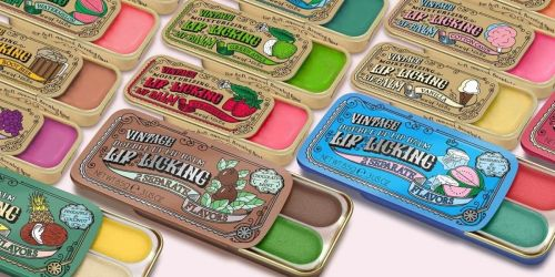 Vintage Lip Licking Balm Tins Are the Perfect Stocking Stuffer