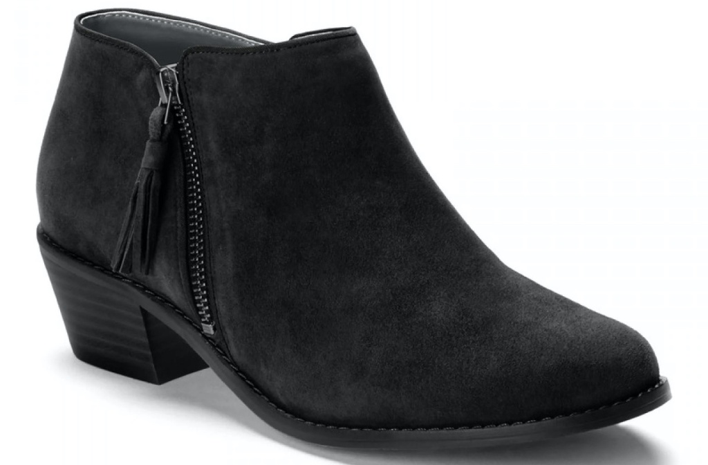 women's black boot