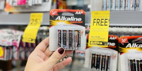 Buy 1, Get 1 FREE Walgreens Brand Alkaline Batteries | In-Store & Online