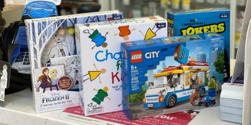 50% Off Toy Clearance at Walgreens + Buy 4, Get 1 Free | Disney, LEGOs, & More