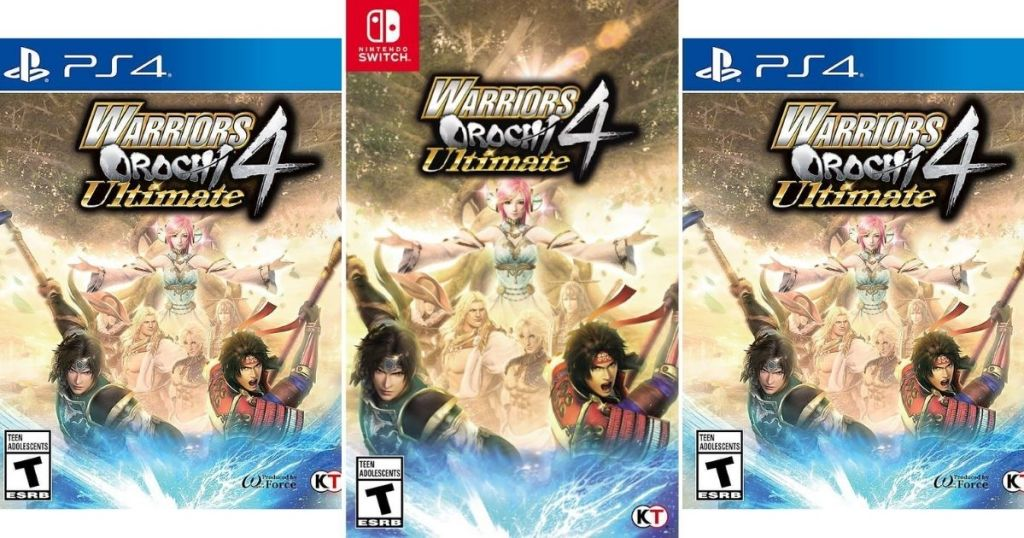 3 views of Warriors Orochi 4 Ultimate video game