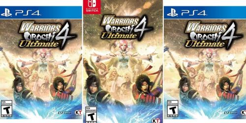 Warriors Orochi 4 Ultimate Game Only $19.99 on BestBuy.com | PlayStation 4 or Nintendo Switch