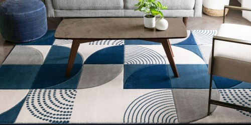Geometric Print 5×7 Area Rug Only $39 Shipped on Amazon