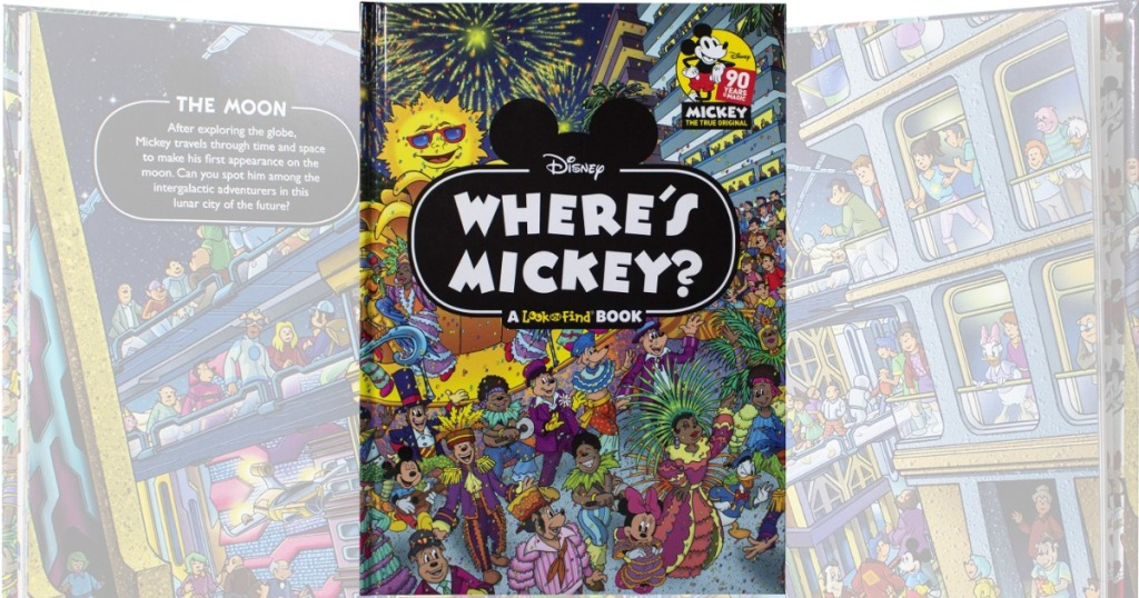 Disney themed activity book