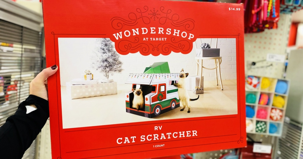 Wondershop RV Cat Scratcher House