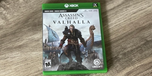 Assassin's Creed Valhalla Game for Xbox One, PS4 or PS5 Only $39.99 Shipped on Amazon (Regularly $60)