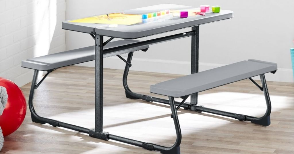 Your Zone Activity Table open in a room