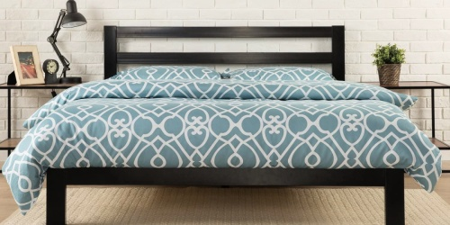 Zinus Platform Metal Queen Bed Frame Only $109 Shipped (Regularly $167+)