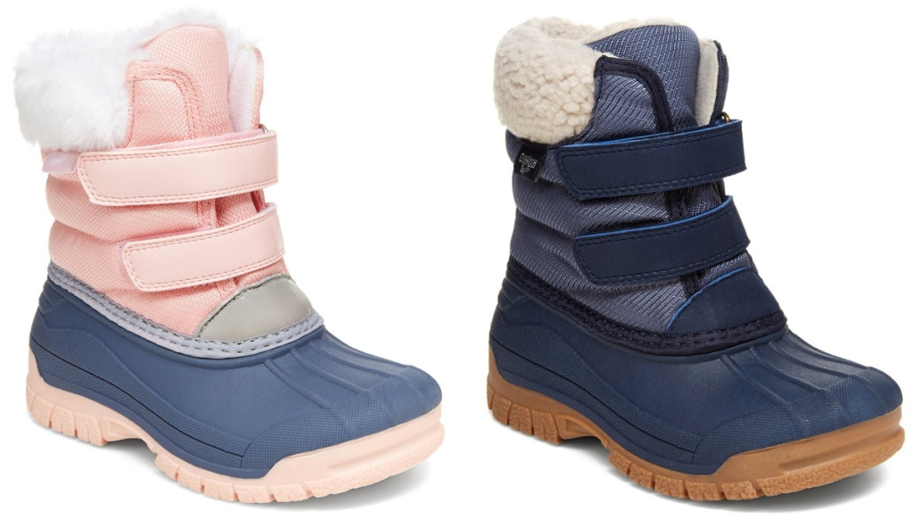 2 pairs of Carter's Kids Yule Boots