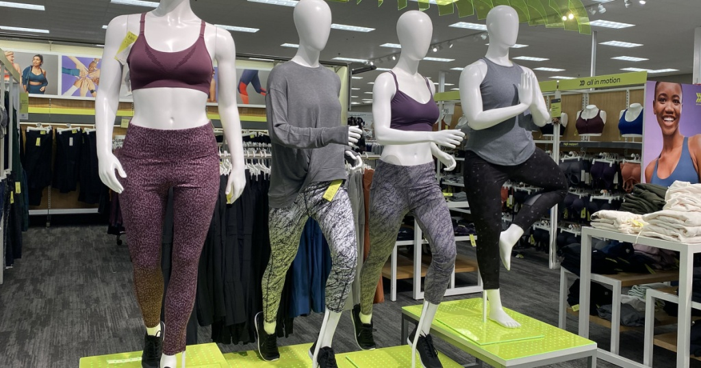 all in motion apparel in store at target