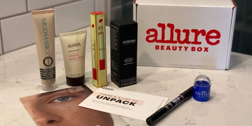 Allure April Beauty Box Just $23 Shipped ($300+ Value!) | Includes 8 Beauty Products