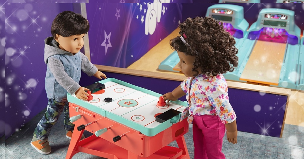 american girl game table