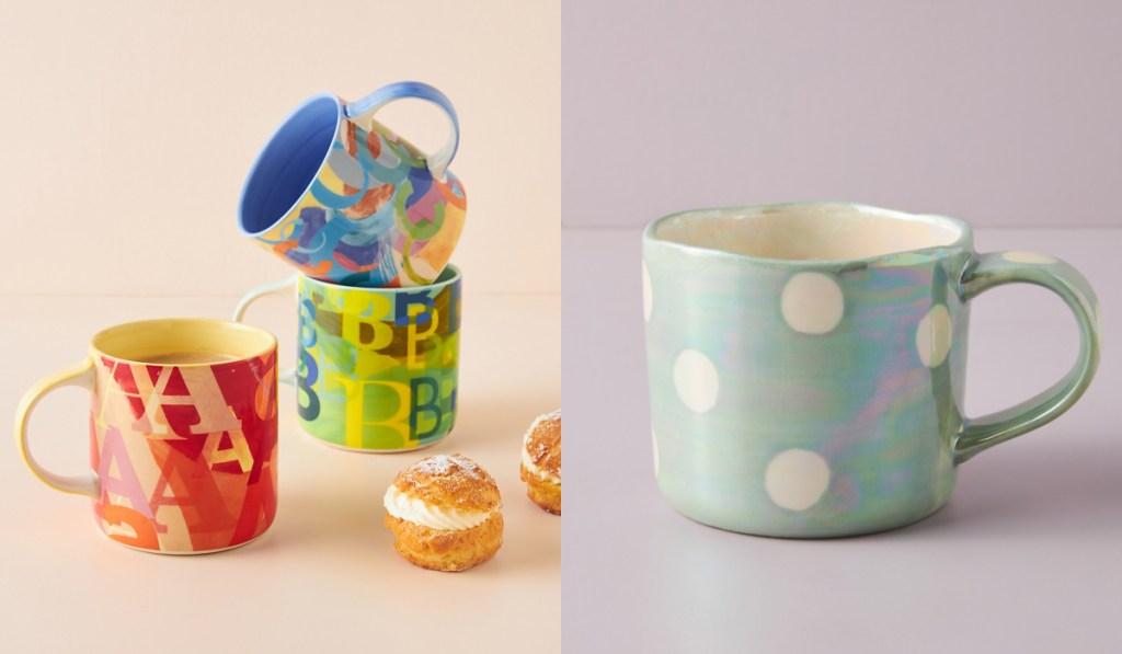 anthropologie mugs