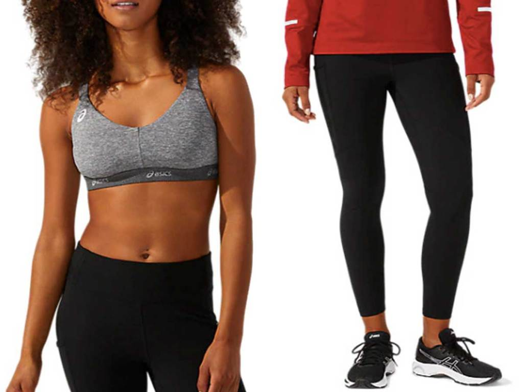 women's sports bra and tights