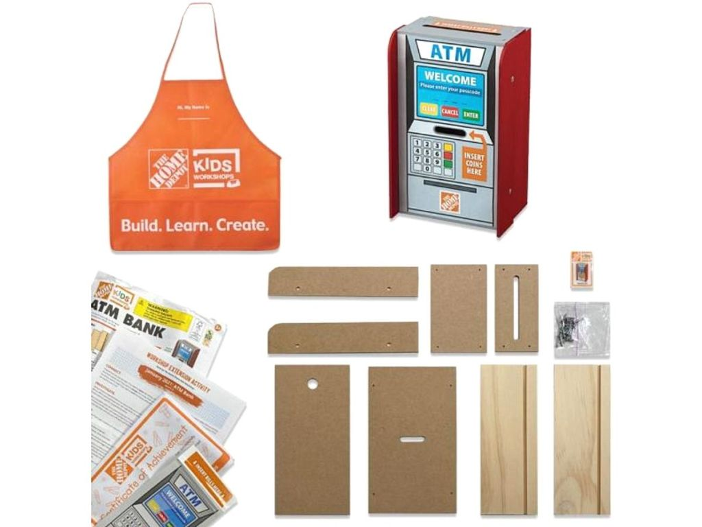 ATM Wood kit and accessories