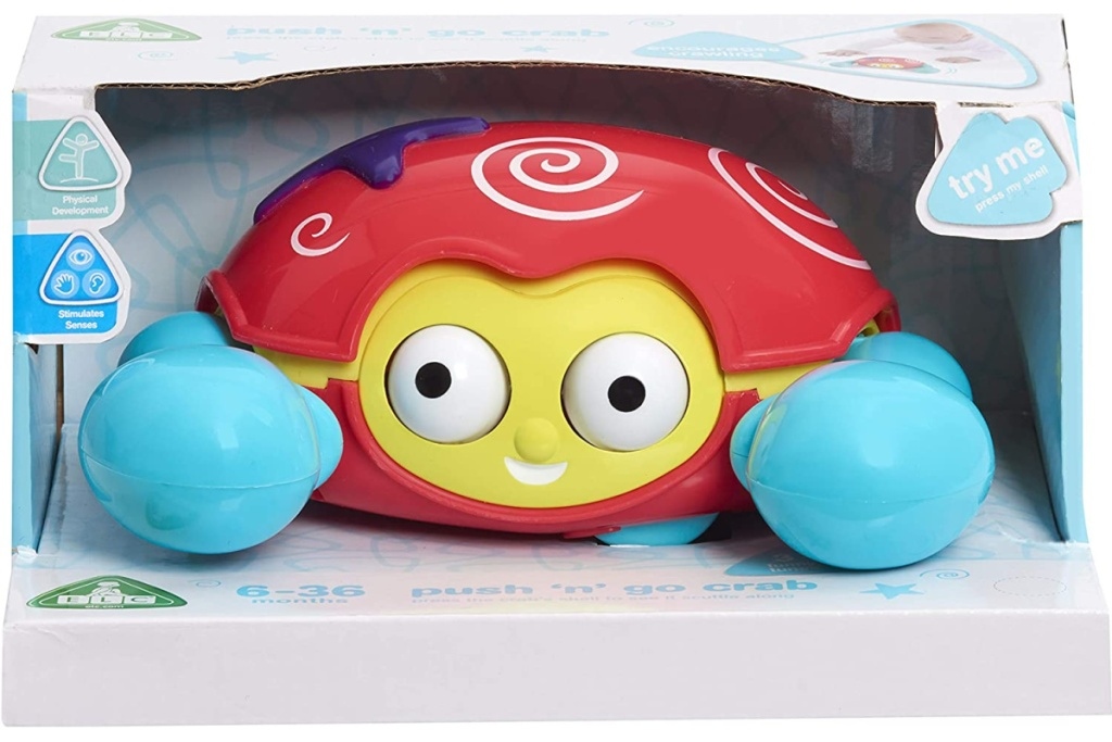 baby crab toy in box
