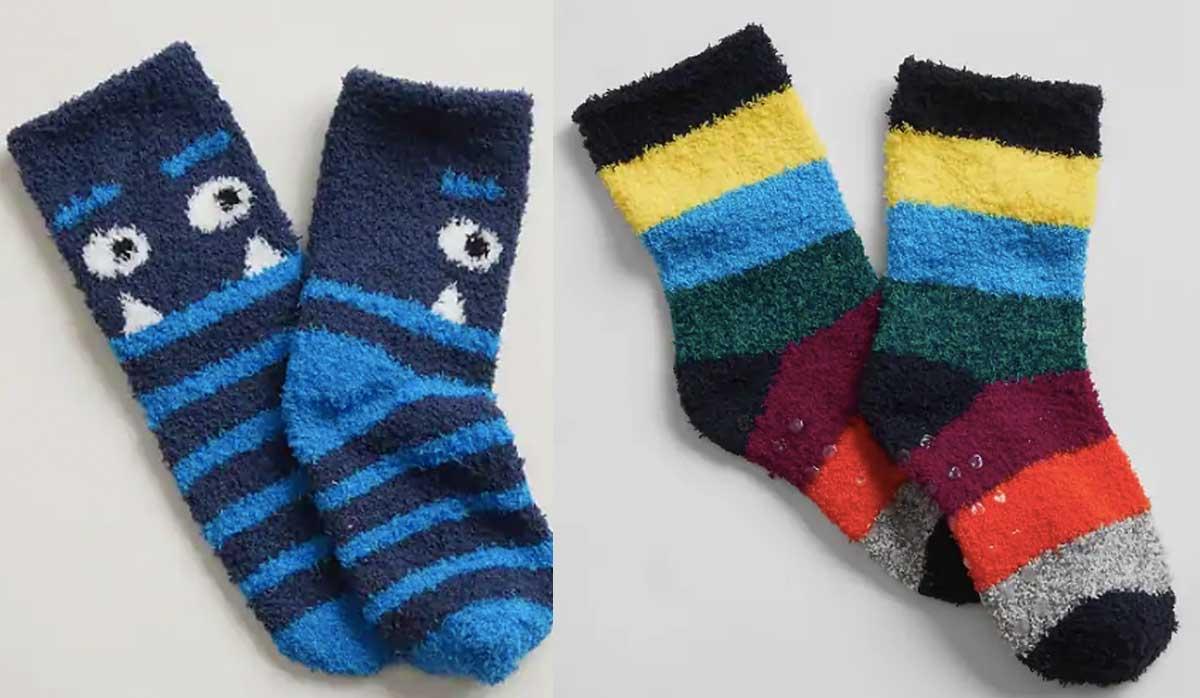 baby fuzzy socks