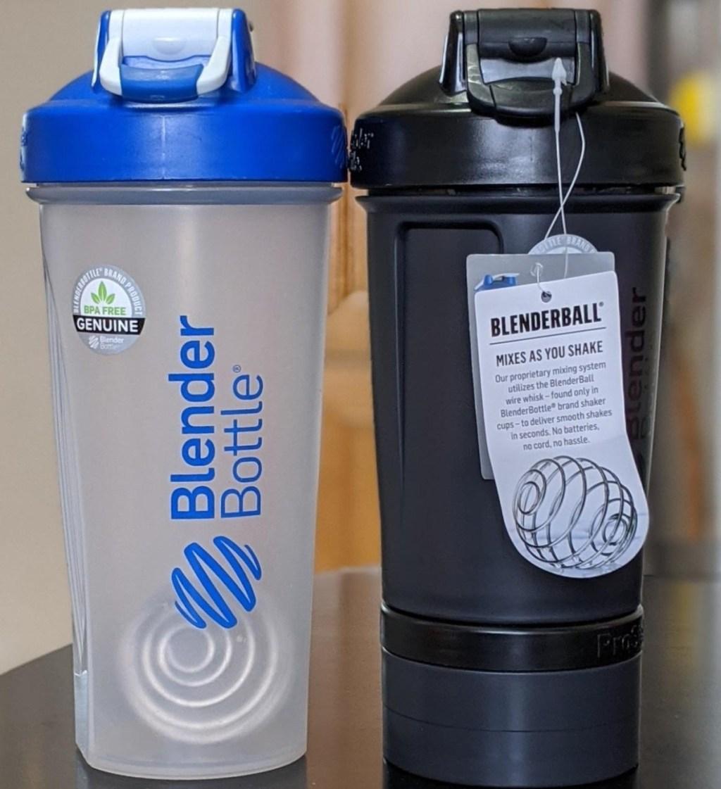 two Blender Bottles
