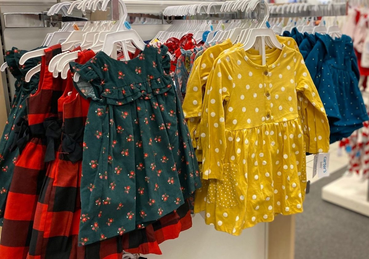 carters dresses in store