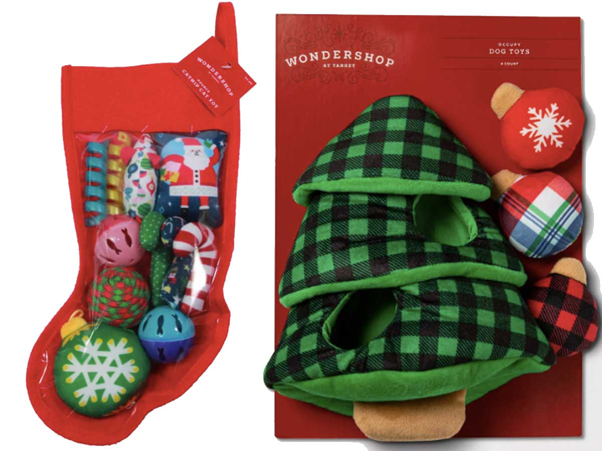 christmas toys for dog and cat