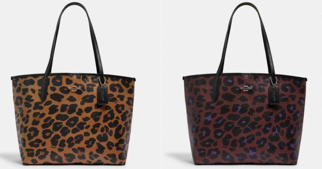 dua tas jinjing pelatih leopard