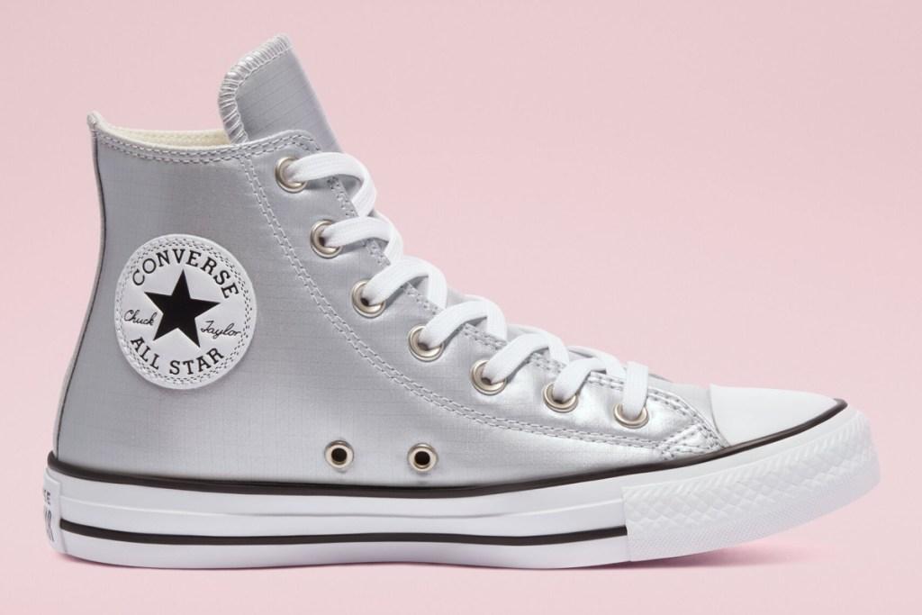 converse glitter high top shoe
