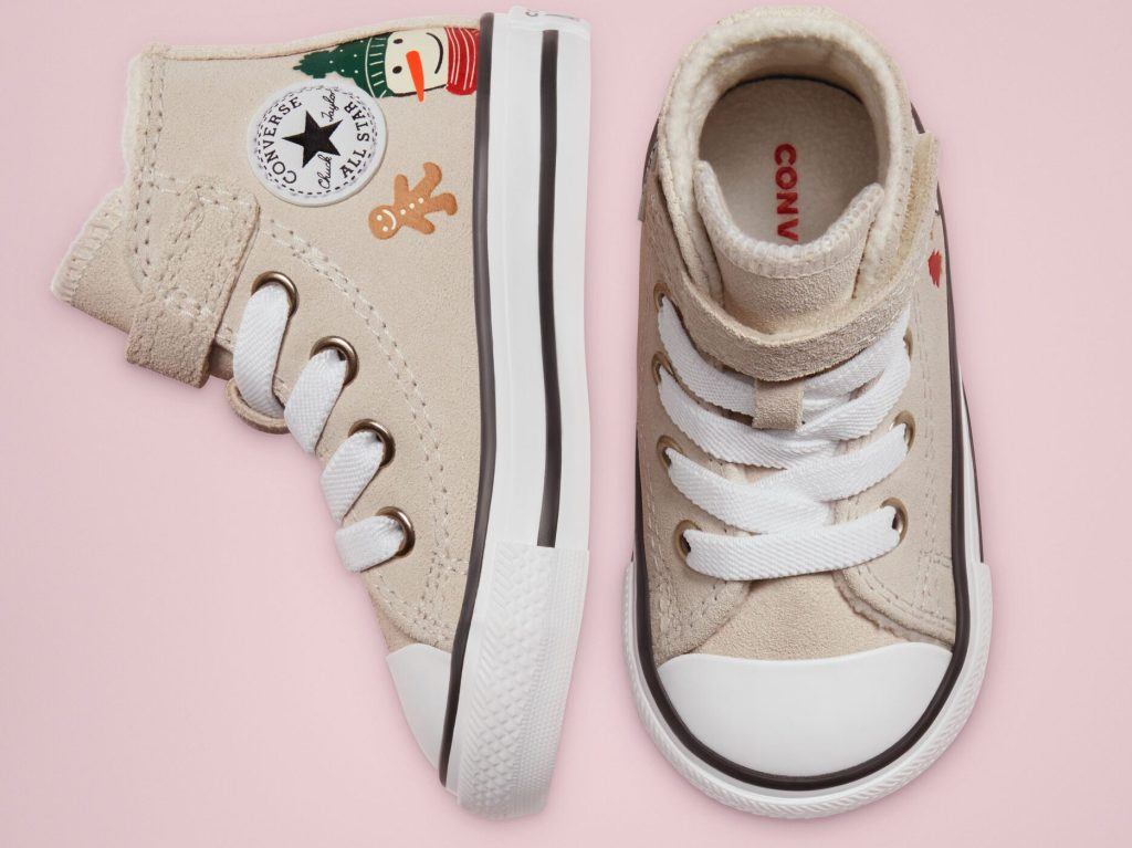 pair of converse kids winter holiday