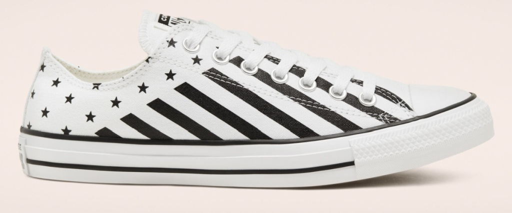 converse starts and stripes shoe