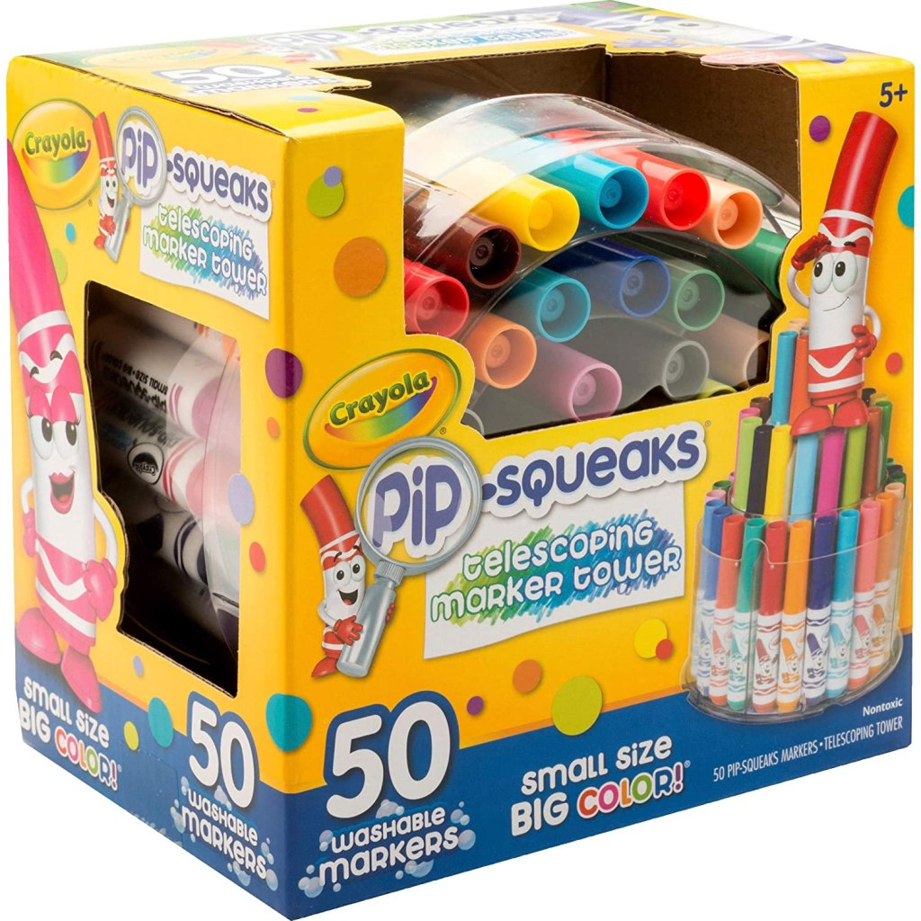 crayola pip squeaks in box