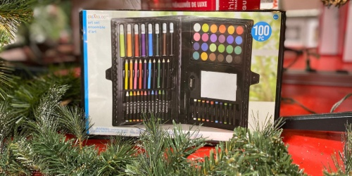 Creatology 100-Piece Art Set Only $1.99 on Michaels.com (Awesome Holiday Donation Item!)