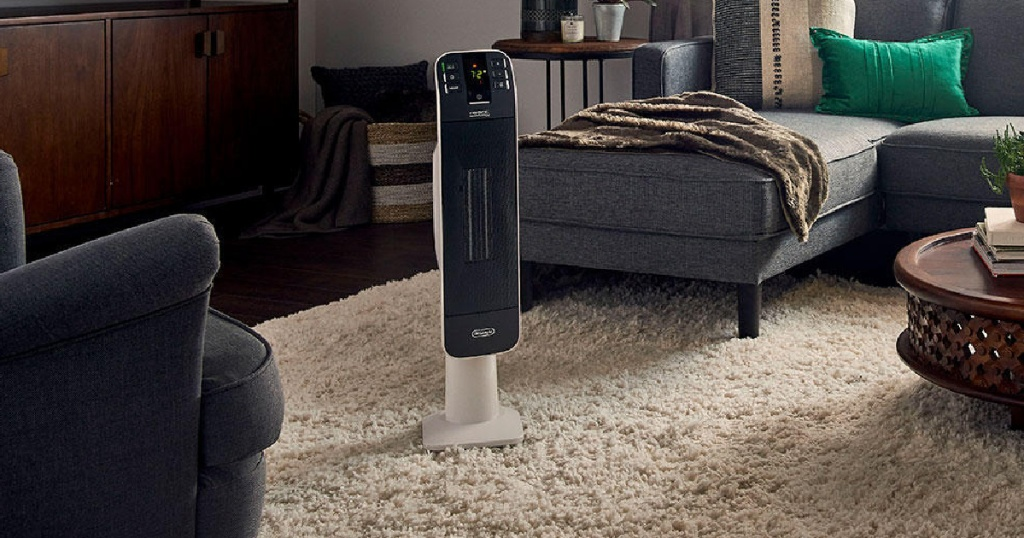 delonghi space heater in home