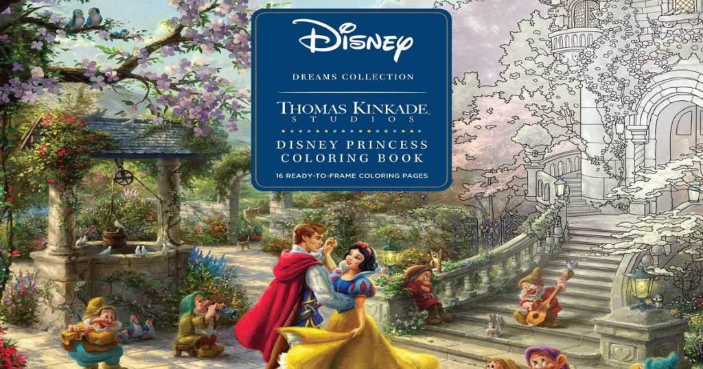 disney dreams collection coloring book