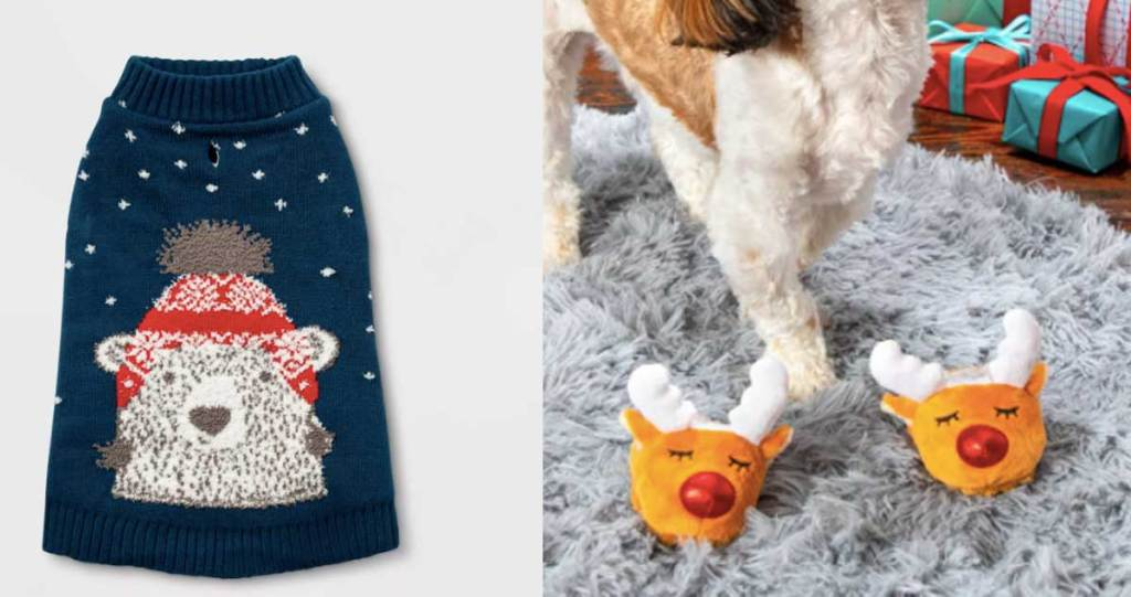 dog and cat sweater