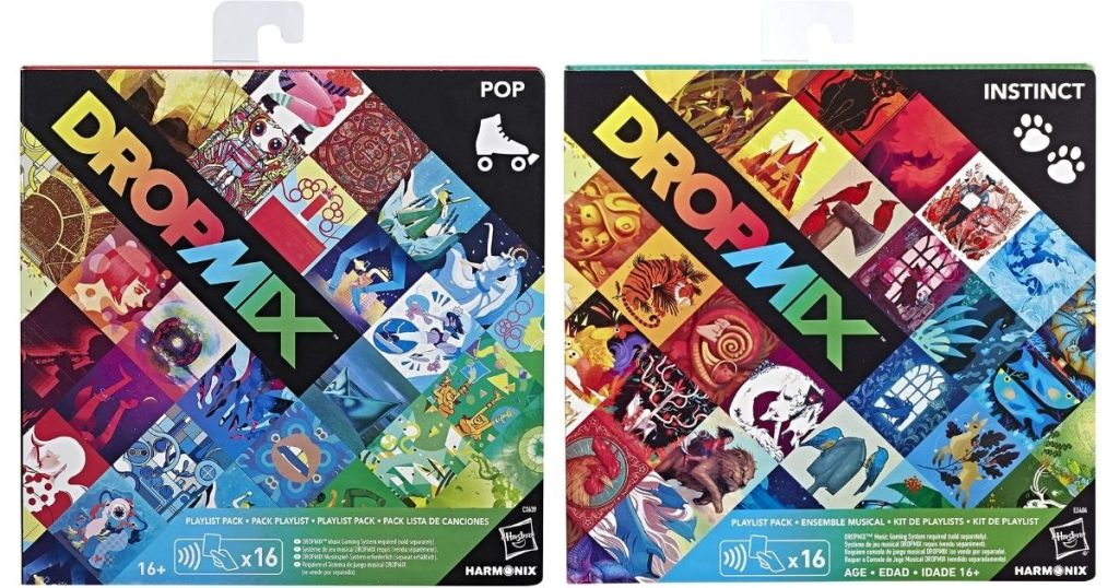 dropmix pop and instinct packs