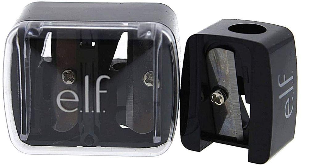 e.l.f. pencil sharpener and case
