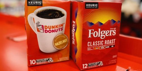 75¢/1 Dunkin' or Folgers Coupons = K-Cups from $4 at Walgreens (Regularly $9)