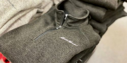 Eddie Bauer Women's & Men's Fleece from $14.99 Shipped (Regularly $50+)