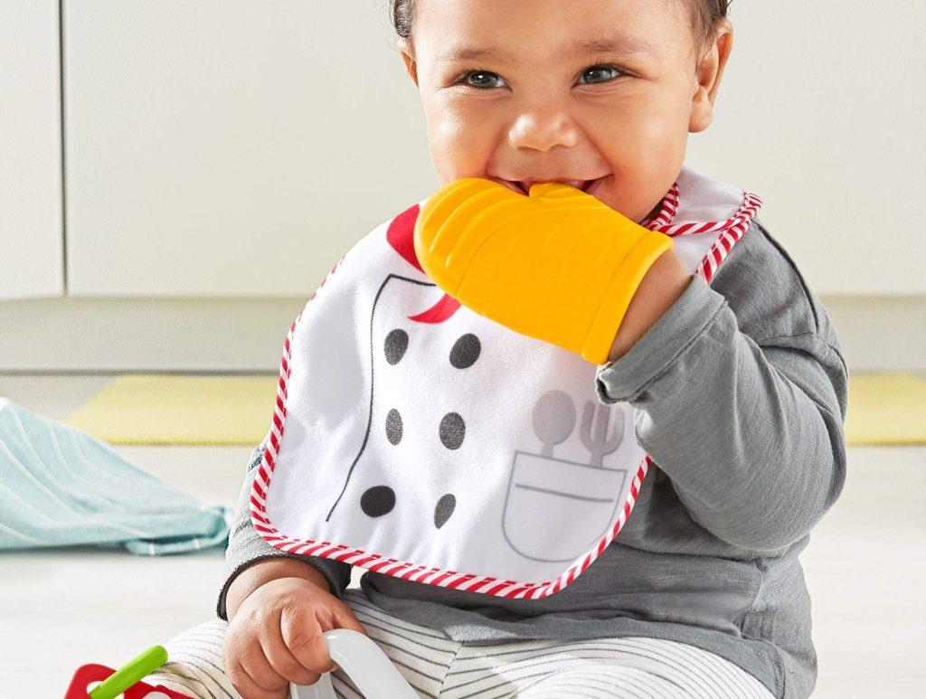 fisher price chef set on baby