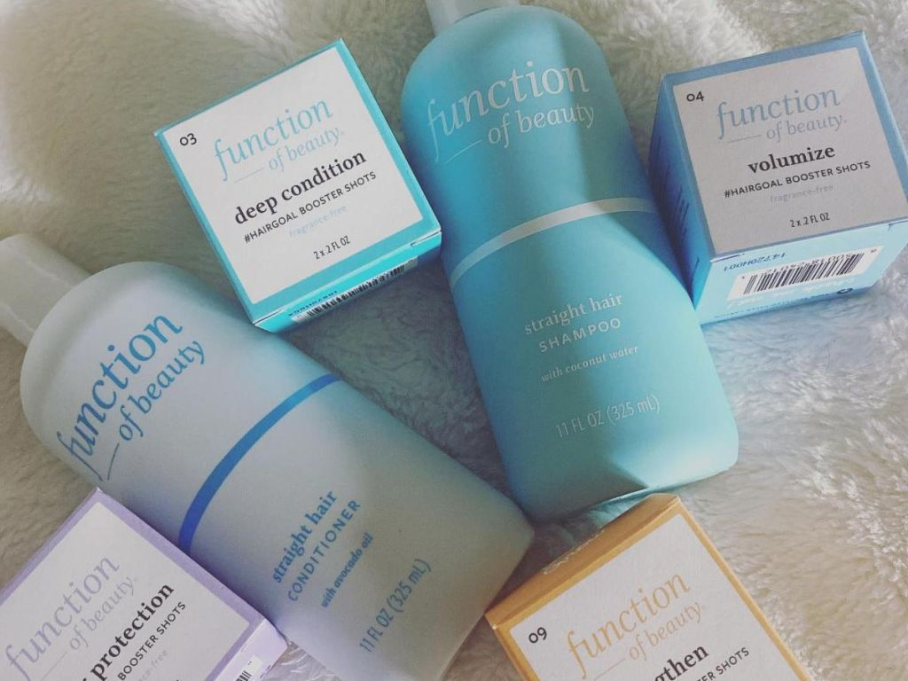 Function of Beauty haircare products