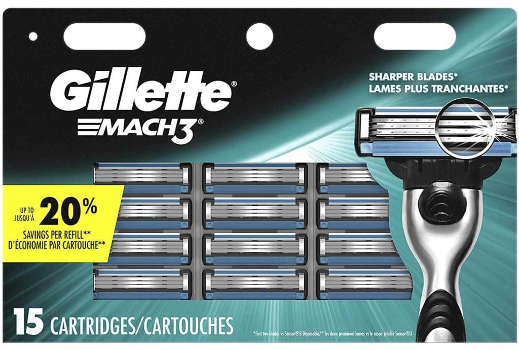 stock image of razor refills