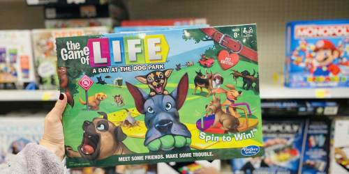 The Game of Life A Day at the Dog Park Walmart Exclusive Board Game Just $10