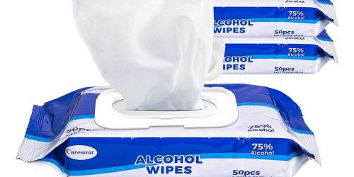 Hand Sanitizing Wipes 50-Count Only $2.49 Shipped