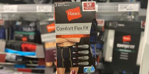FREE $5 Target Gift Card w/ $25+ Hanes Purchase | Tees, Underwear, Socks & More