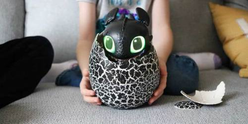 Hatching Toothless Interactive Baby Dragon Just $24.97 on Walmart.com (Regularly $60)   Pre-Order Now for 12/17 Release