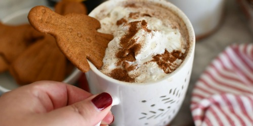 Make Copycat Starbucks Gingerbread Lattes Using Your Crockpot!