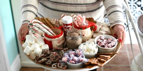 Make a Festive Hot Chocolate Charcuterie Board!